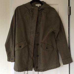 Green Madewell jacket